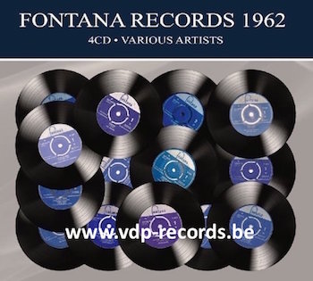 V.A. - Fontana Records 1962 ( 4 cd's )